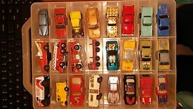 vintage matchbox diecast and assorted
