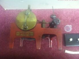 old steam engine burner included