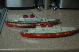 tin boat lot ss 15 inches long