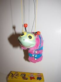 puppet caterpiller perfect condition
