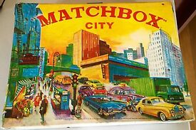 vintage matchbox matchbox city 1960 s play