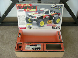 vintage 1991 kyosho 1 10 outlaw rampage