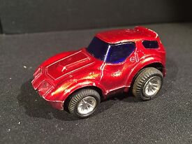 vintage zee corvette station wagon 70s red