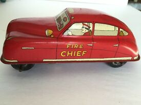 1950 s vintage courtland vintage fire chief