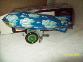 vintage schylling stealth zeppelin wind up