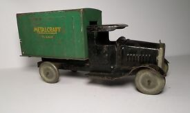 1930s metalcraft toy truck st louis delivery