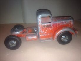 vintage mack semi tractor truck toy