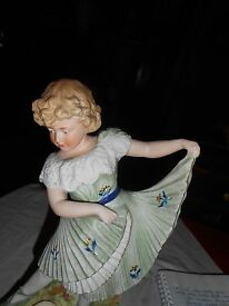 marked 11 dancing girl figurine in mint
