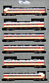 z scale jr 485 express normal color 6 cars