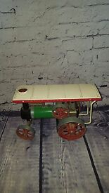 vintage steam traction engine te1 te1a model