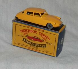 1960s matchbox 65 citroen 19 ds sedan gpw