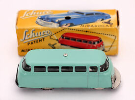 vintage mirako bus 1004 clockwork boxed