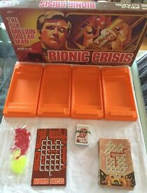the bionic crisis complete parker brothers
