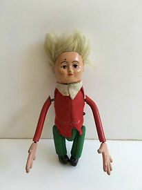 vintage wind up tumbling peter the acrobat