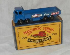 60s matchbox 20 erf ever ready transport