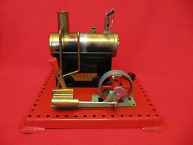 vintage mamod se 2a steam engine with