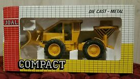 joal compact snow plough plow die cast 1 43