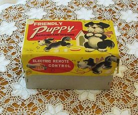 vintage 50s rvt alps japan friendly puppy