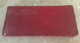 antique 1895 board game uncle sams mail bros