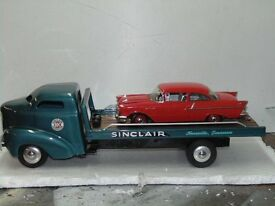 custom built tow truck with 57 chevy 1937