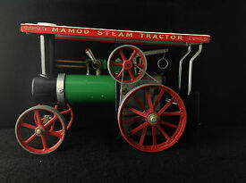 vintage steam tractor excellent shape
