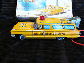 works rare 1959 remote em service toy car