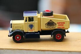 scammell tractor int model show at gaydon