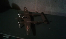 vintage p 39 military airplane fighter plane
