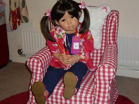 beautiful reborn doll toddler avalon from