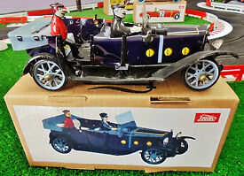 tin wind up luxury car vintage repro in very
