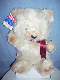 20 rushton toy soft touch beige teddy bear