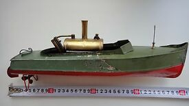 antiques warship steam engine on a boat bing