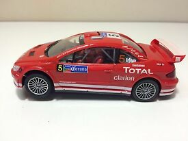 1 32 slot car 5 prugeot rally car