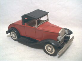 old ford model a roadster 6 3 8 tin friction