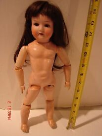 vintage 14 in jointed composition doll