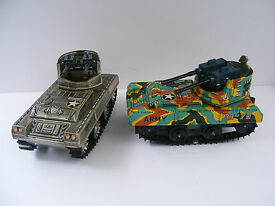 cragstan 2 m 75 tanks battery operated rare