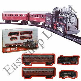 large kids classic vintage style train toy