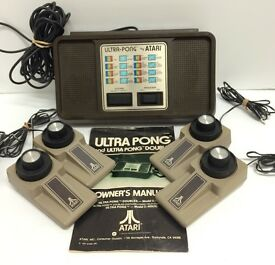 vintage atari ultra pong game model c 402