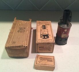 vintage the whizzer toy steam engine with