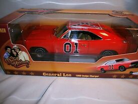 69 general lee dodge charger 1 18 auto world