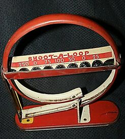 vintage wolverine tin litho shoot a loop w