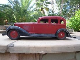 1933 graham cor cor original toy car tutone