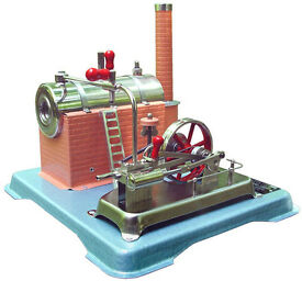 jensen model 25 live steam engine tin toys