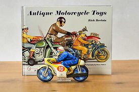 antique tin toy japanese honda police