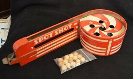 vintage tin litho toy supply mfg co spot