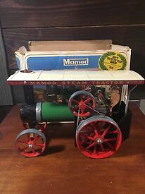 vtg live steam tractor engine toy t e 1a