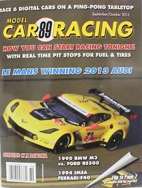 model car racing magazine 89 scalextric fly