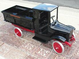 1920s buddy l sand and gravel truck pressed