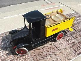 1920s buddy l ice delivery truck pressed