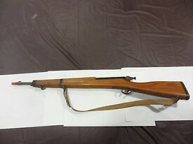 vintage kadet trainer rifle wood metal toy